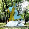 Памятник шведским болельщикам