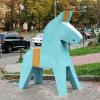 Конь Дала (Памятник шведским болельщикам)