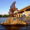 Редкая птица (Памятник редкой птице)
