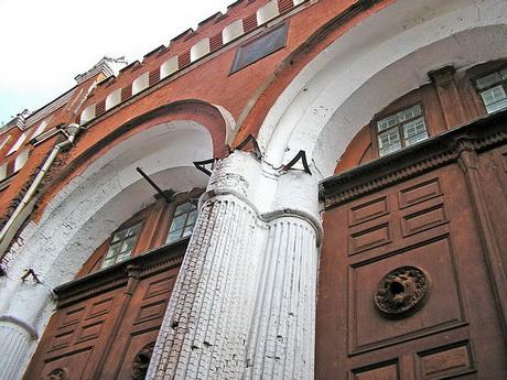 фрагмент Никольских ворот