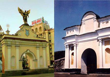 """ворота """"Печерские"""" и Московские"""