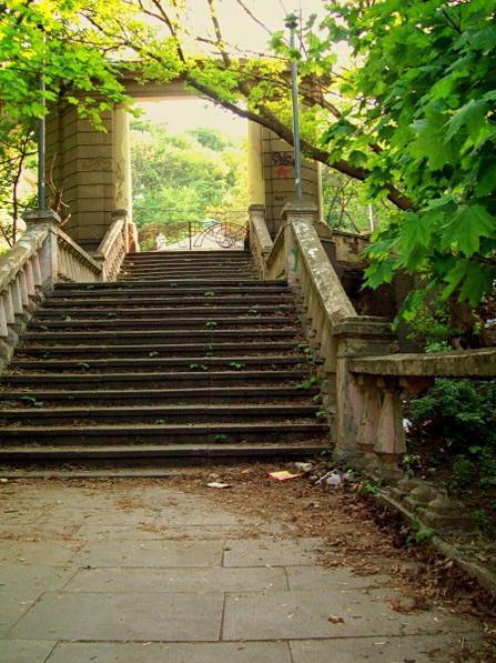 лестница, наши дни