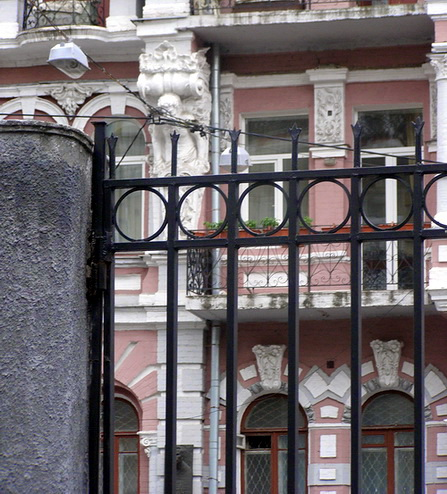 ограда Дома-дворца