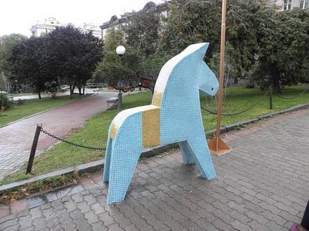 Конь Дала