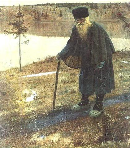 М.Нестеров. Странник