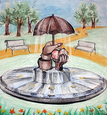 проект фонтана любви