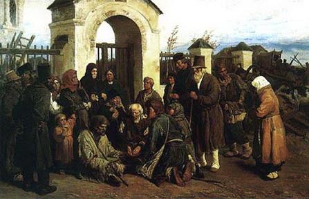 В.Васнецов Паломники и нищие