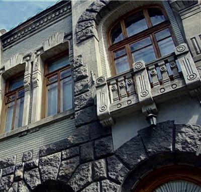 фасад Дома вдовы