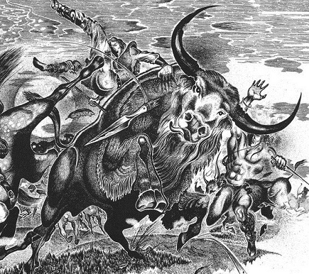 А.Тимофеев. Охота на Тура