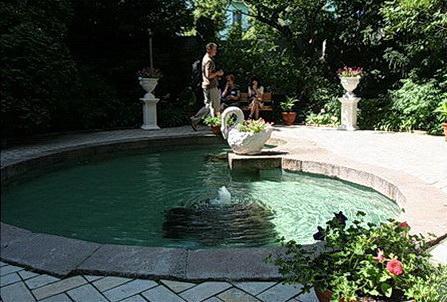 фонтан Лебедь