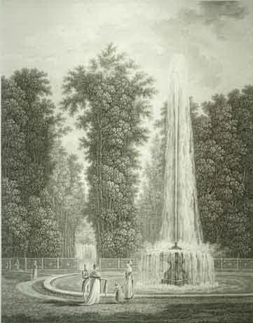 Итальянский фонтан Петергофа