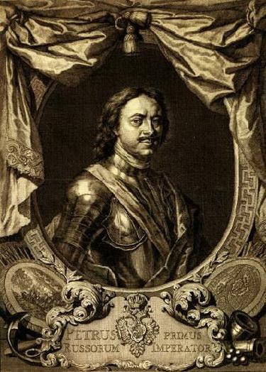 ПетрІ. 1718 г.