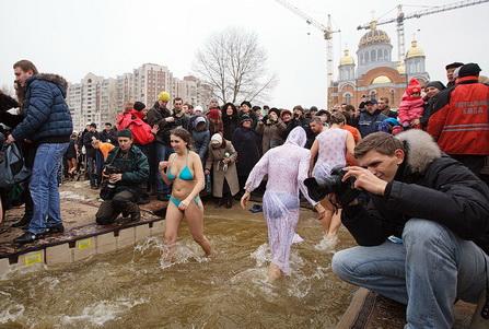 Крещение в Киеве