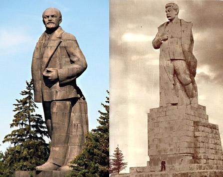В.Ленин и И.Сталин на канале