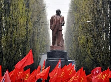 коммунистический митинг