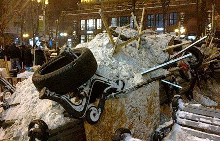 баррикада Майдана