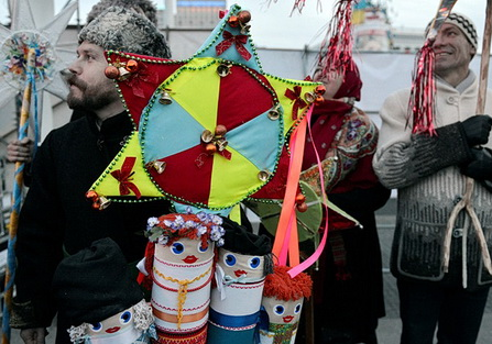 Евромайдан.Рождество