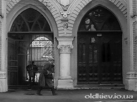 входные двери в 50е годы